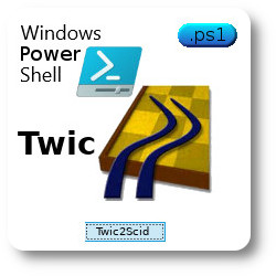 Powershell scripting: import  twic PGN to Scid
